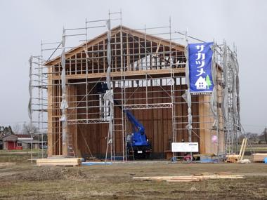 重機格納庫 株式会社坂詰製材所(新潟県)